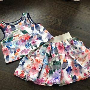 Pippa & Julie top and skirt set